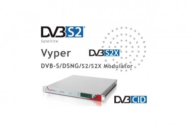 Digital Video Broadcast Modulators | Power cast vyper